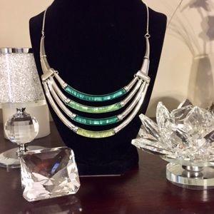 Jewelry - Necklace: 🔥2/$40  Green Chroma Bohemian Style.